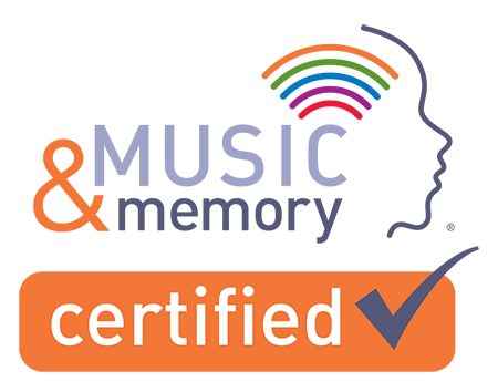 Music Memory Certified Logo