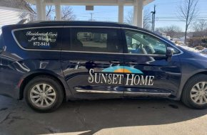 Sunset Home Van