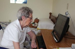 Residents enjoy our free Wi-Fi